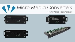 Micro Media Converters | Versa Technology