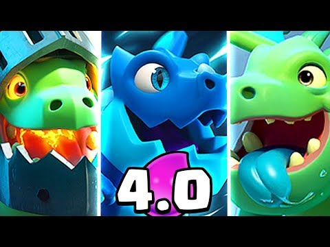 WOW! DECK TRIPLO DRAGO [Clash Royale]