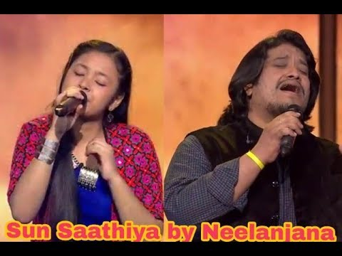 Sun Saathiya || BY NEELU the voice kids