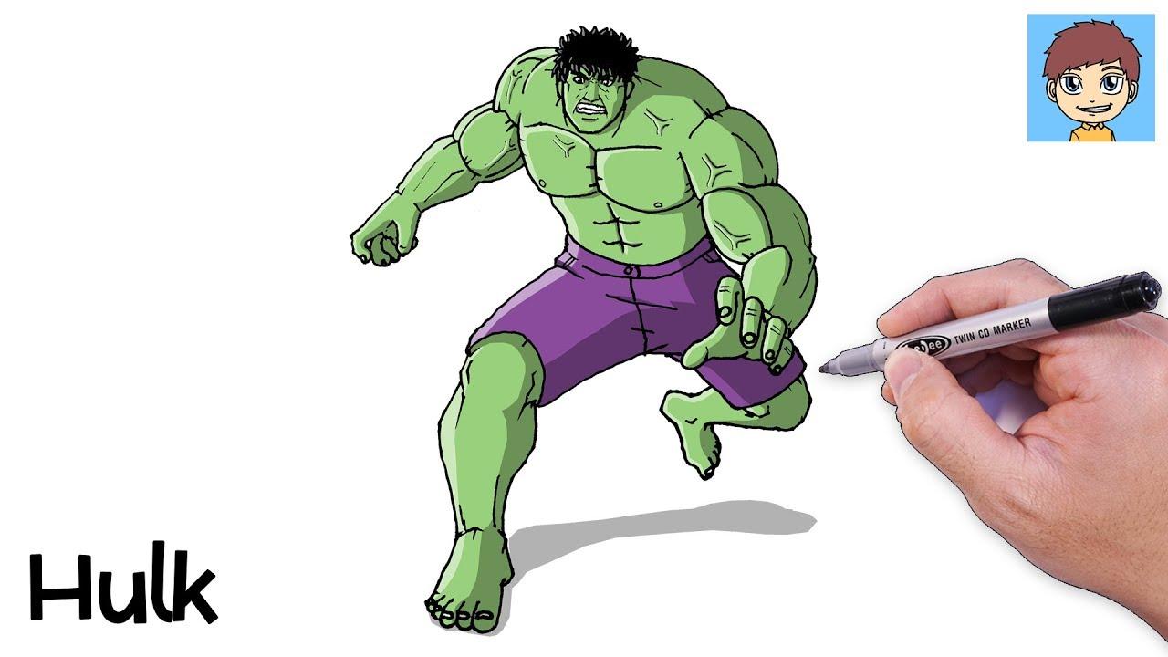 Comment Dessiner Hulk Facilement Dessin Facile A Faire Dessin Hulk