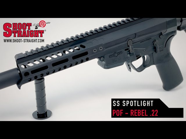 POF USA Rebel 22 AR pistol - Shoot Straight Spotlight