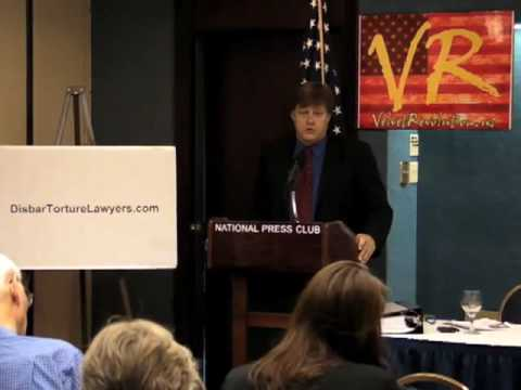 PART 3 - Disbar Torture Lawyers Press Conference - Natl Press Club DC - June 29, 2009
