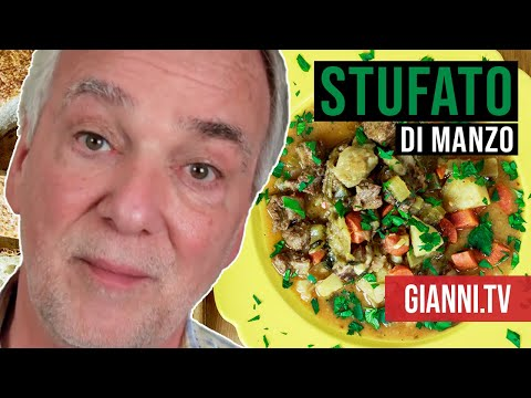Italian Beef & Vegetable Stew: Stufato di Manzo, Italian Recipe - Gianni's North Beach