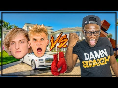 GOING TO JAKE PAUL'S HOUSE