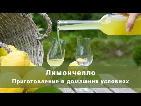 Как приготовить лимончелло в домашних