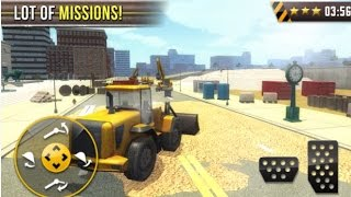 Construction Sim 3D Road works Android Gameplay HD