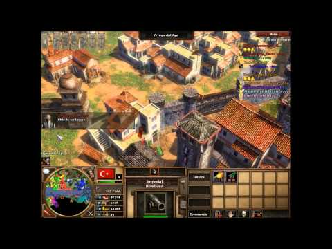 "Age of Empires 3 Asian Dynasties -""Asian vs European""- 4v4 Multiplayer - Amazonia (Hard) (HD)"