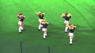 3塁側に登場したチアドラ2014と浅田舞さんのOPダンスショートverです.