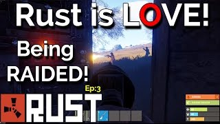 Rust - RAIDED and TRAPPED! Funny base defence!