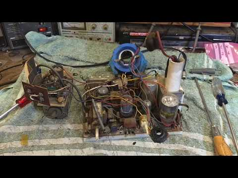 Repair of a 1966 Admiral pk1369 vacuum tube black and white tv part 2/3