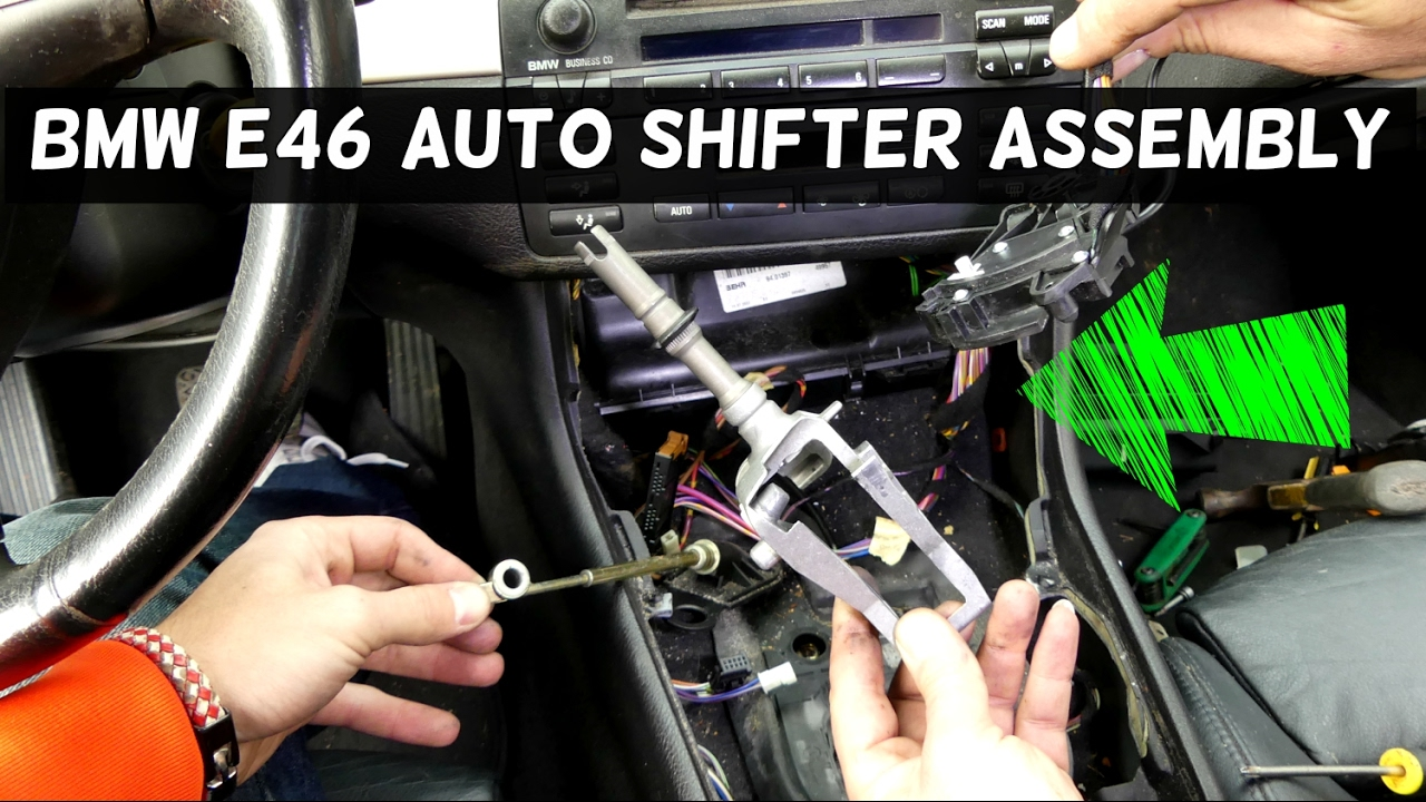 Bmw e46 automatic shifter assembly replacement removal youtube bmw e46 automatic shifter assembly replacement removal swarovskicordoba Choice Image