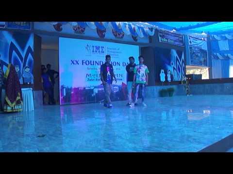 team musical woriors akil.prince nagar.sparky.rapstar goldee live on ime college ghaziabad 2014