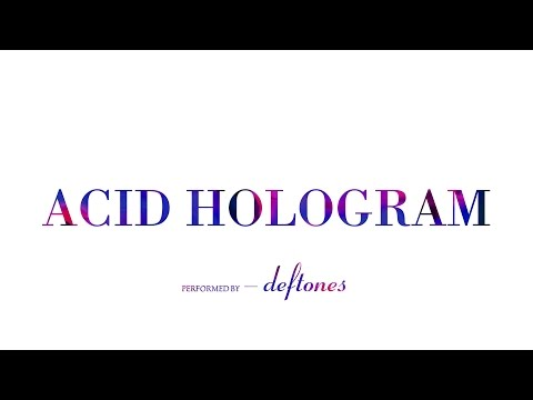 Deftones - Acid Hologram | Lyrics 1080p