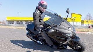 Yamaha T-MAX 530 Scooter Test mit K.OT