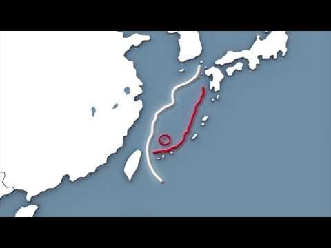 Chinese coast guard vessels enter Japanese territorial waters near Senkaku islands