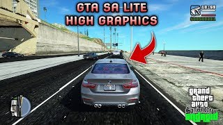 GRAFIKNYA KEREN COY!! GTA SA LITE HIGH GRAPHICS MOD | Best Quality | Support All Os Android