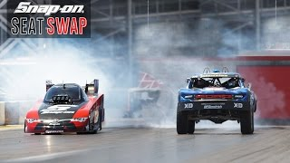 Download Swapping a Trophy Truck & Nitro Funny Car ft. Cruz Pedregon and Bryce Menzies | Snap-on Tools Mp3 and Videos