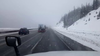 BigRigTravels LIVE! Interstate 70 Westbound climbing towards the Eisenhower Tunnel in Colorado