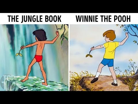 10 Times Disney Cheated & Reused Animations