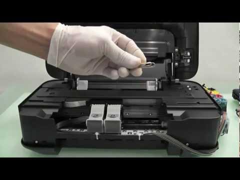 วิธีการเติมหมึก ติดตั้ง Canon MP287 Tank damper โดยคอมพิวท์