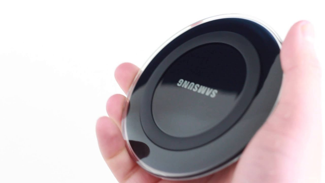 samsung official wireless charger for the galaxy s6 youtube. Black Bedroom Furniture Sets. Home Design Ideas