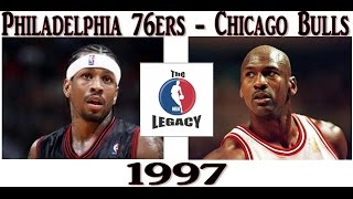[The NBA Legacy] 1997-1998 season. Philadelphia 76-ers - Chicago Bulls
