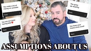 ANSWERING YOUR ASSUMPTIONS ABOUT US | Brittani Boren Leach