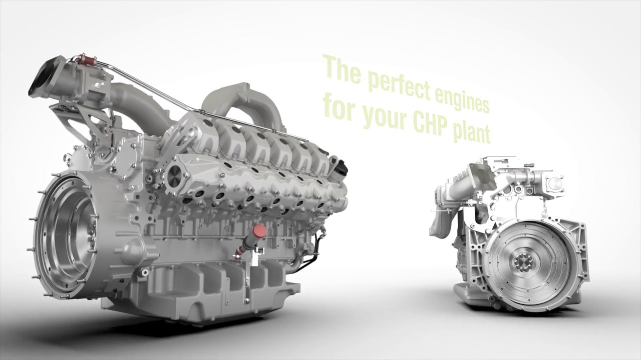 Overview   Gas engines for cogeneration units   MAN Engines