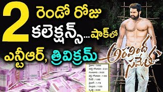 Aravinda Sametha Veera Raghava Movie World Wide 2nd Day Collections   Jr NTR   S Thaman   Trivikram