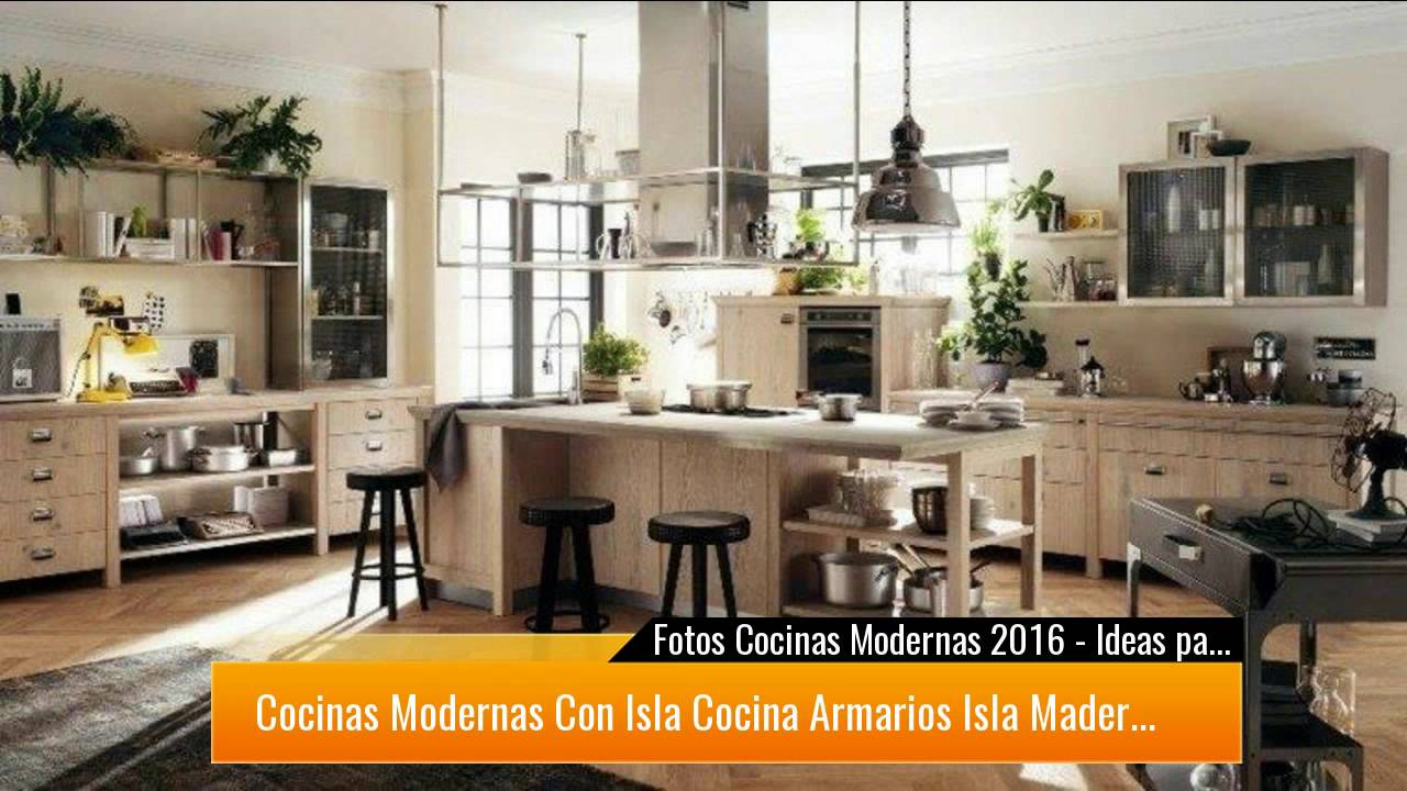 50 ideas para decorar cocinas modernas que te enamorar n for Ideas cocinas modernas