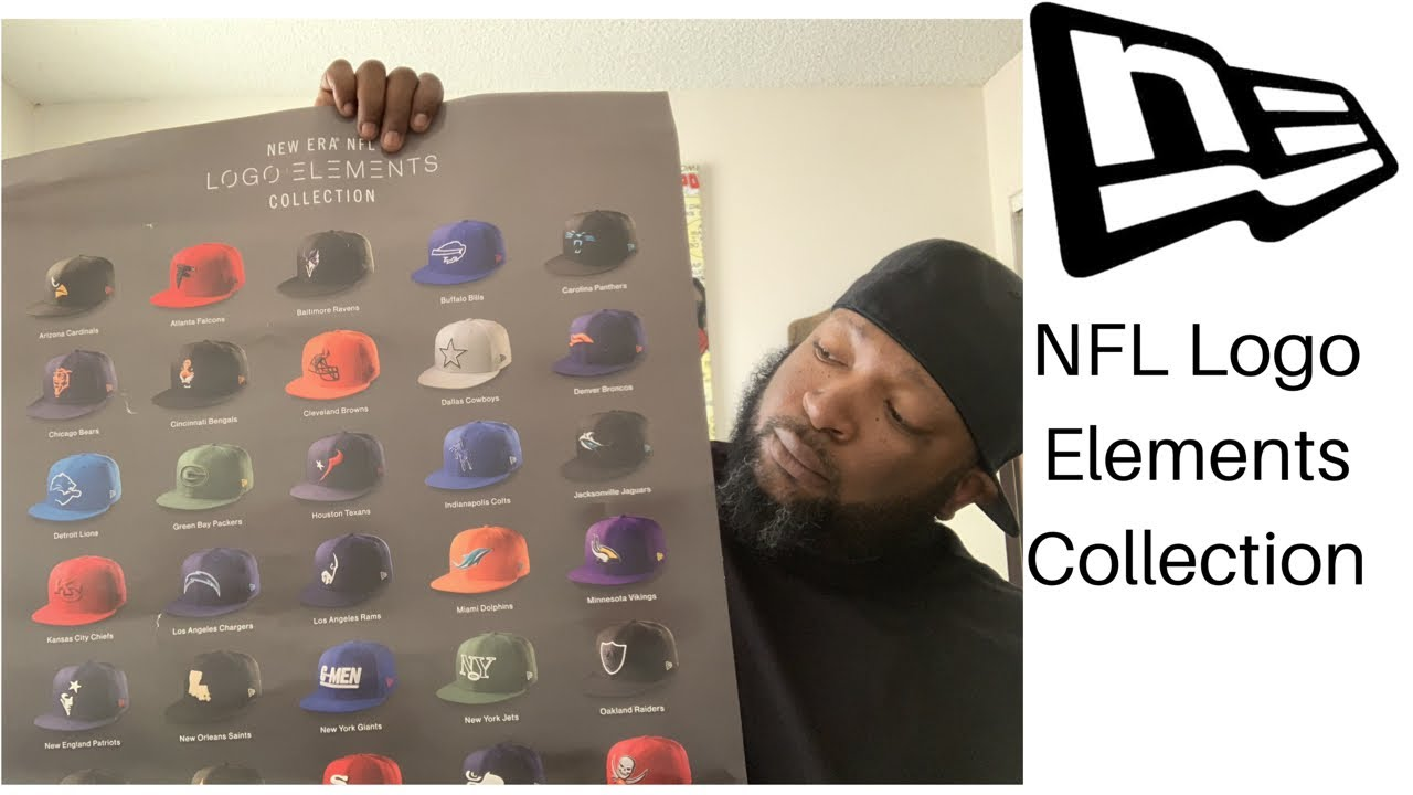 3489fb73d54f9 Exclusive NFL Logo Elements Collection From Lids.com - YouTube