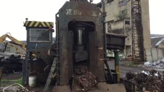 For Sale: ZDAS CNS 630T Scrap Shear - Good price!(Please visit www.recyclingsupport.com for more pictures and details of the offered machine., 2016-06-08T11:35:28.000Z)