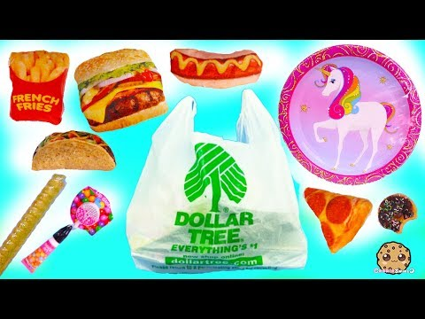 Unicorns , Squishies , Plush Food ! Dollar Tree Store $1 Haul - Cookie Swirl C