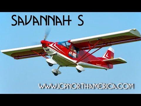 ICP Savannah Light Sport Aircraft Review Midwest LSA Expo Mt  Vernon Illinois 2017