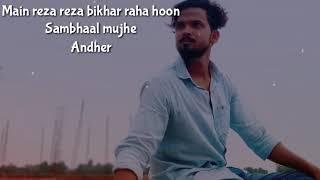 Khudara status | Mulk Movie Song| Reza reja bikhar gya hoon| Rishi kapoor|Ashutosh Rana| Mulk Movie