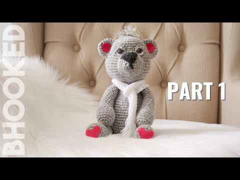 How to Crochet a Teddy Bear Video 1