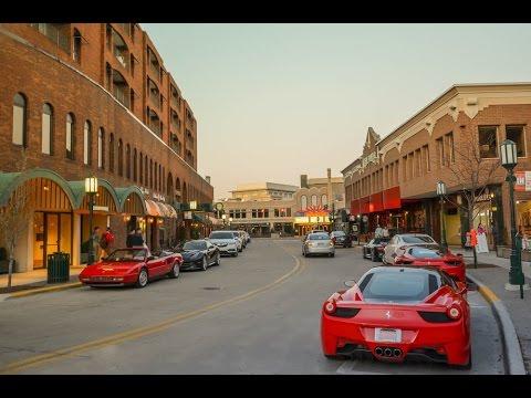 Supercar Spotting Birmingham Michigan Ferrari 488 Gtb Ferrari F12 Lamborghinihuracan Youtube