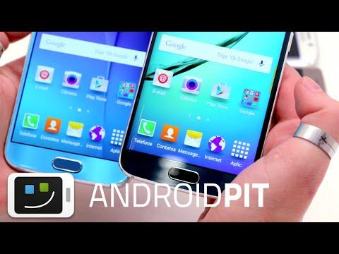 Galaxy S6 vs Galaxy S6 Edge : test comparatif complet