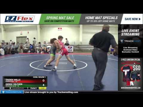132 Taiden Wills Kansas Red vs Derek Gilcher Michigan Blue 8383841104