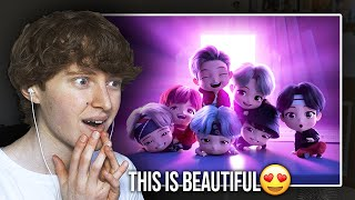 THIS IS BEAUTIFUL! (TinyTAN Animation - Dream ON | Reaction/Review)