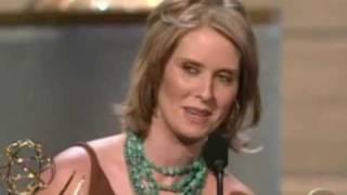Cynthia Nixon Emmy Win ♥