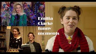 Emilia Clarke funny Moments