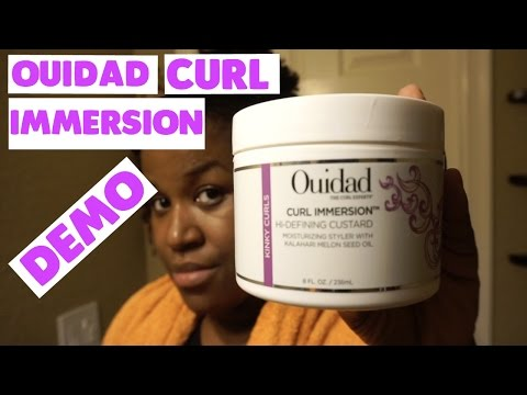 Ouidad Curl Immersion DEMO | Natural Hair