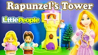 DISNEY PRINCESS RAPUNZEL'S TOWER Tangled Rapunzel's Tower Toys Video
