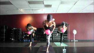 Bootie Camp Yoga® Practice Demo for IDEA World Fitness 2015