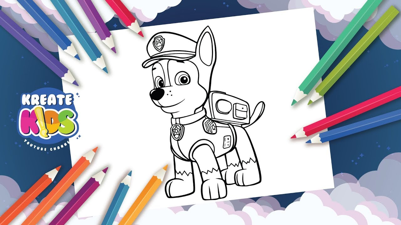 Paw Patrol Disegni Da Colorare Coloring Painting Paw Patrol