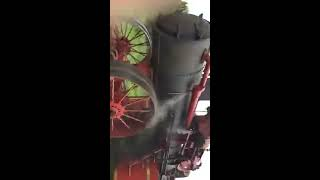 Gaar Scott steam engine plowing at 2017 Ohio Valley Antique Machinery Show