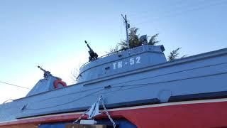 Торпедный катер ТК-52 времён Великой Отечественной Войны. Севастополь
