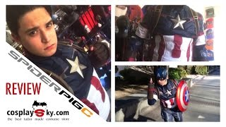 REVIEW: CosplaySky Avengers Age of Ultron Captain America Suit