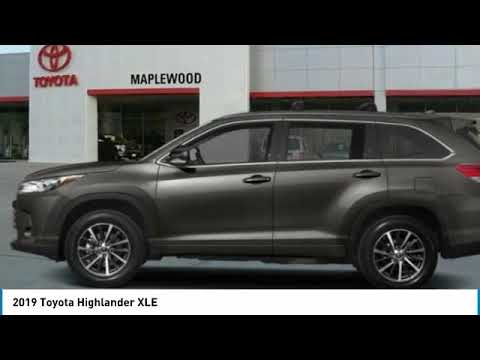 2019 Toyota Highlander XLE Maplewood, St Paul, Minneapolis, Brooklyn Park, MN K14170